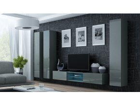 Obývací stěna VIGO 18, šedá