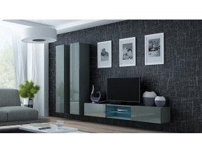 Obývací stěna VIGO 19, šedá