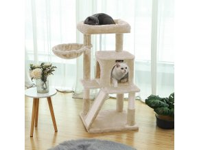 Strom pro kočky 96 cm béžový