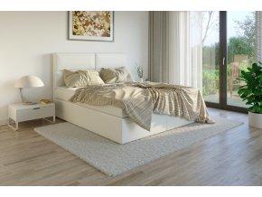 Čalouněná postel boxsprings potah Madryt 920