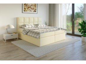 Čalouněná postel boxsprins madryt907