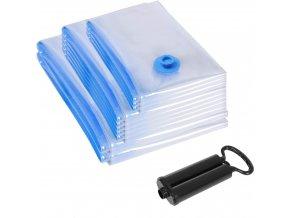 Vakuovací pytle 10 ks transparentní