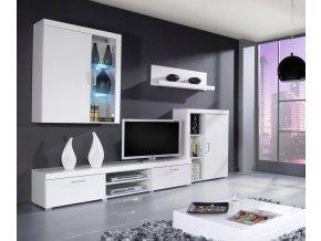 Obývací stěna CAMA SAMBA A, bílá