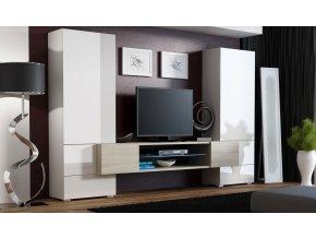 Obývací stěna TORII černobílá