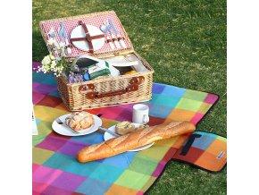 pikniková deka nepromokavá 195 x 150 cm