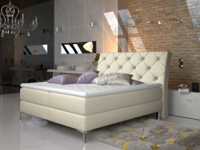 Čalouněná postel ADEL Boxsprings 180 x 200 cm (Provedení Soft 33)