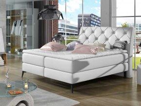 Čalouněná postel LAOS Boxsprings 140 x 200 cm (Provedení Soft 17)