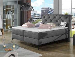 Čalouněná postel LAOS Boxsprings 180 x 200 cm (Provedení Dora 96)