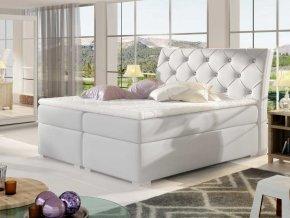 Čalouněná postel BALVIN Boxsprings 140 x 200 cm (Provedení Soft 17)