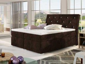 Čalouněná postel BALVIN Boxsprings 180 x 200 cm (Provedení Kronos 06)