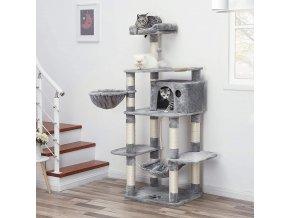 kočičí strom světle šedý