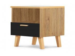 doční stolek dekor dub