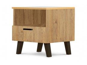 noční stolek dekor dub