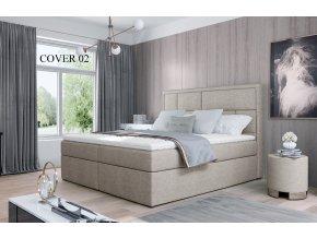 Čalouněná postel MERON, 140, 160, 180 x 200 cm, provedení Cover 02