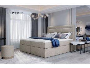 Čalouněná postel VIVRE, 140, 160, 180 x 200 cm, provedení Cover 02