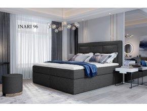 Čalouněná postel VIVRE, 140, 160, 180 x 200 cm, provedení Inari 96