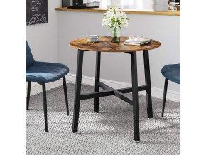 Kulatý stolek 80 cm