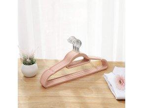 ramnínka na šaty růžový semiš
