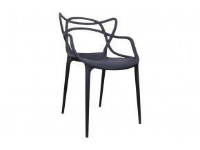 Židle SLIMBI černá 01