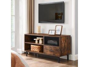 televizní stolek industriální
