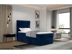 Čalouněná postel ARCO, provedení Kronos 09