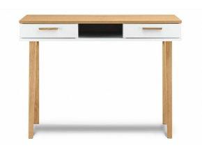 Psací stůl FRISK dub bílý 100 x 75 x 48 cm