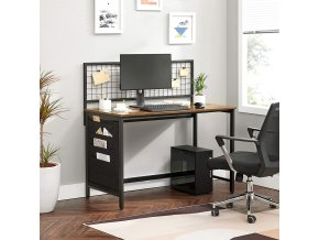 psací stůl kovová mřížka