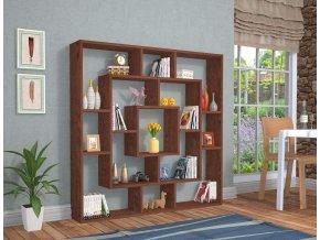 knihovna wenge