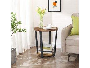 kulatý odkládací stolek