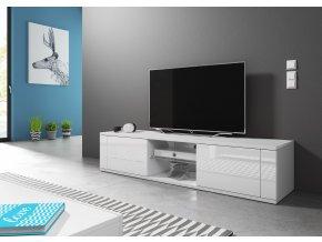 Televizní stolek HIT, bílý