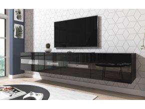 TV stolek RITA, černý