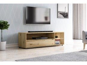 Televizní stolek LET'S ROCK dub