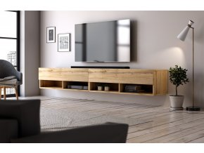 Televizní stolek DERBY  200 dub wotan