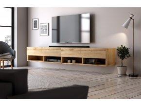 Televizní stolek DERBY  280 dub wotan
