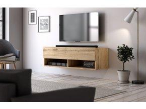 Televizní stolek DERBY 100 dub wotan