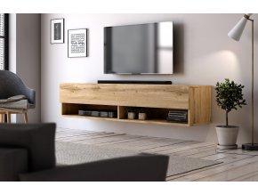 Televizní stolek DERBY 140 dub wotan