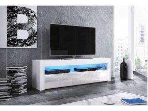 Televizní stolek MEX 140, bílý