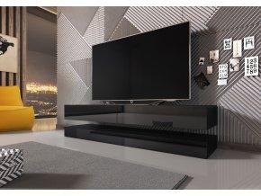 Televizní stolek FLY černý