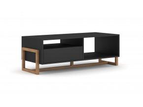 Konferenční stolek OSLO černý mat