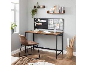 psací stůl s kovovou nástěnkou2