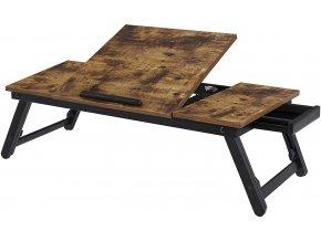 stolek pod notebook industrální
