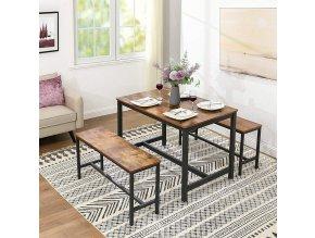Jídelní stůl kovové nohy1