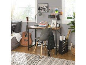 Psací stůl s kovovým rámem 100 x 75 x 50 cm