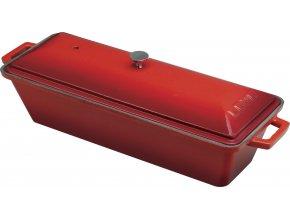 Litinová terina - červená
