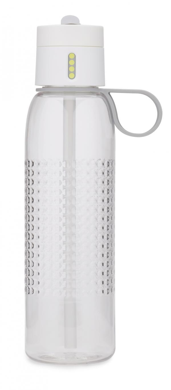 Sportovní láhev s počítadlem plnění JOSEPH JOSEPH Dot Active, 750 ml Barva: Bílá