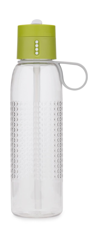 Sportovní láhev s počítadlem plnění JOSEPH JOSEPH Dot Active, 750 ml Barva: Zelená