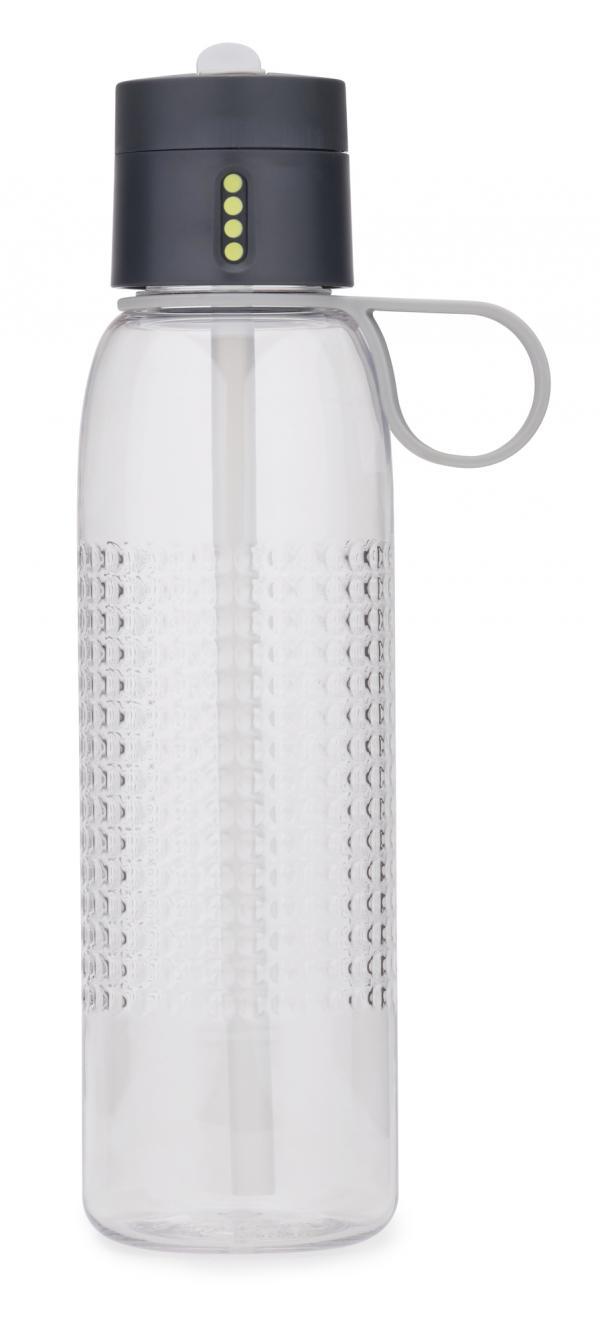 Sportovní láhev s počítadlem plnění JOSEPH JOSEPH Dot Active, 750 ml Barva: šedá