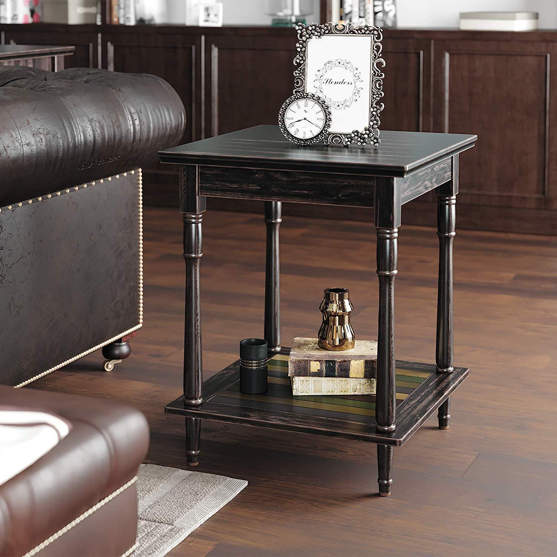 Levně Odkládací stolek rustikální 50x50 cm