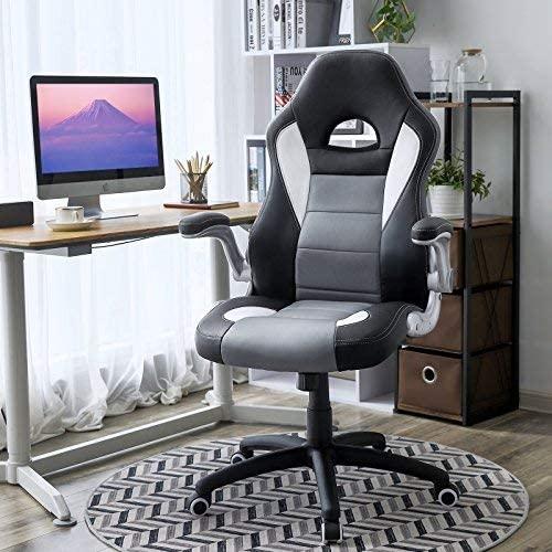 Kancelářské křeslo černé šedé