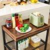 Odkládací stolek do kuchyně pojízdný